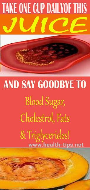 Say Goodbye To Cholesterol, Blood Sugar, Fats And Triglycerides!#NATURALREMEDIES