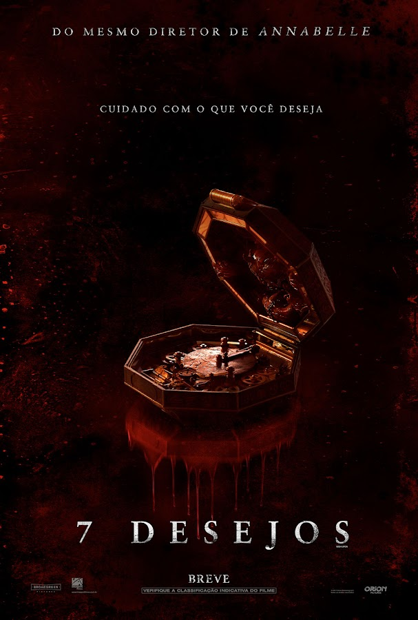 7 Desejos - Terror do mesmo diretor de Annabelle lança primeiro trailer legendado oficial