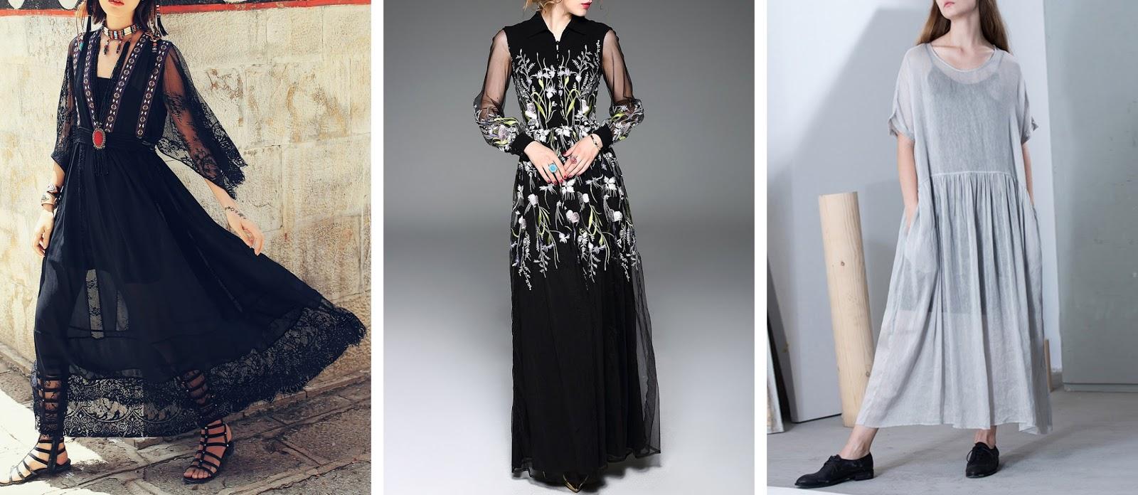 StyleWe, petite maxi dresses,