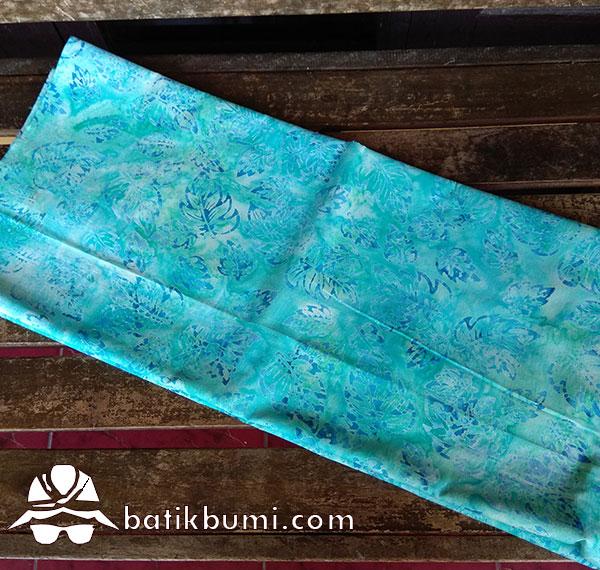 Kain Batik Cap Motif Daun Seledri Pastel