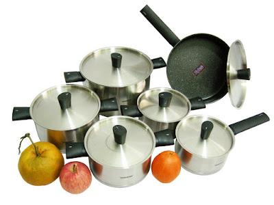 Peralatan Dapur Panci & Wajan