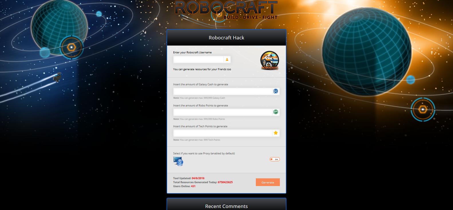 robocraft promo code generator