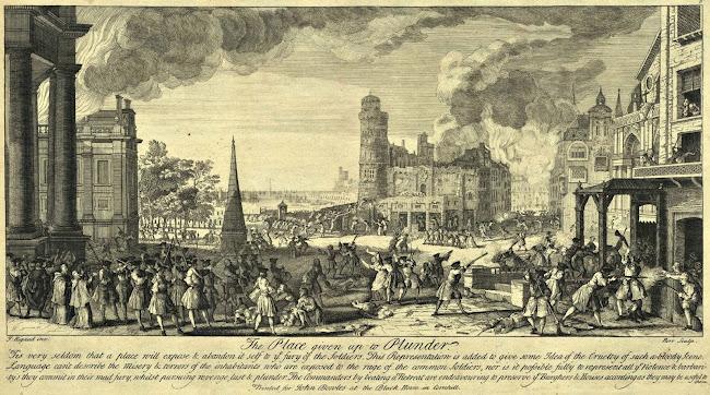 Jacques Rigaud (1680-1754) - Setge borbònic de Barcelona de 1713-1714