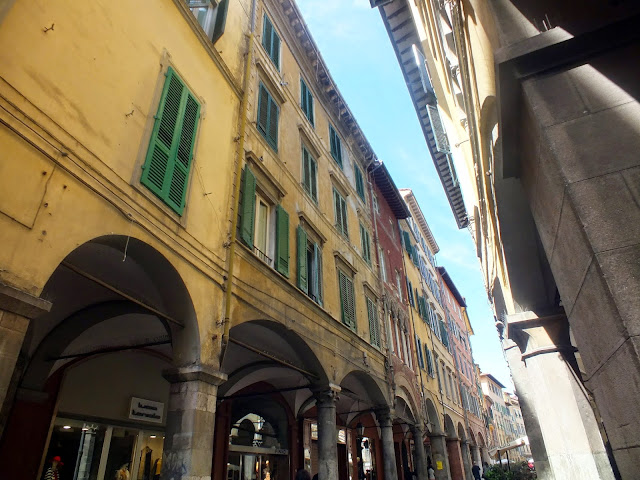 zona peatonal de Pisa