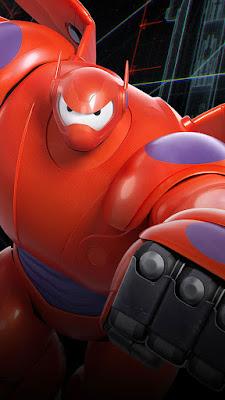 28+ HD WALLPAPER BAYMAX BIG HERO 6 UNTUK IPHONE DAN ANDROID SUPER KEREN | dibingkai.com