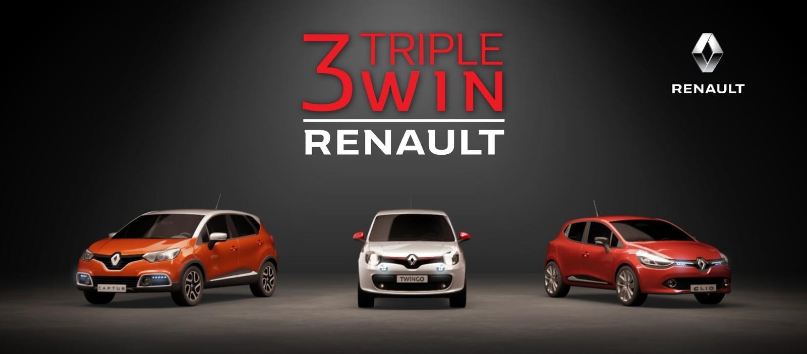 RENAULT 3Cars 23sec frame.0004 Η Renault κατακτά την πρώτη θέση στις πωλήσεις αυτοκινήτων πόλης