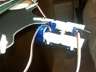 Arduino Hexapod Robot - leg