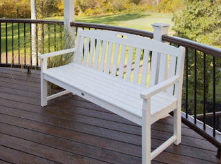 Trex Outdoor Furniture TXB60CW 60-Inch Yacht Club Bench