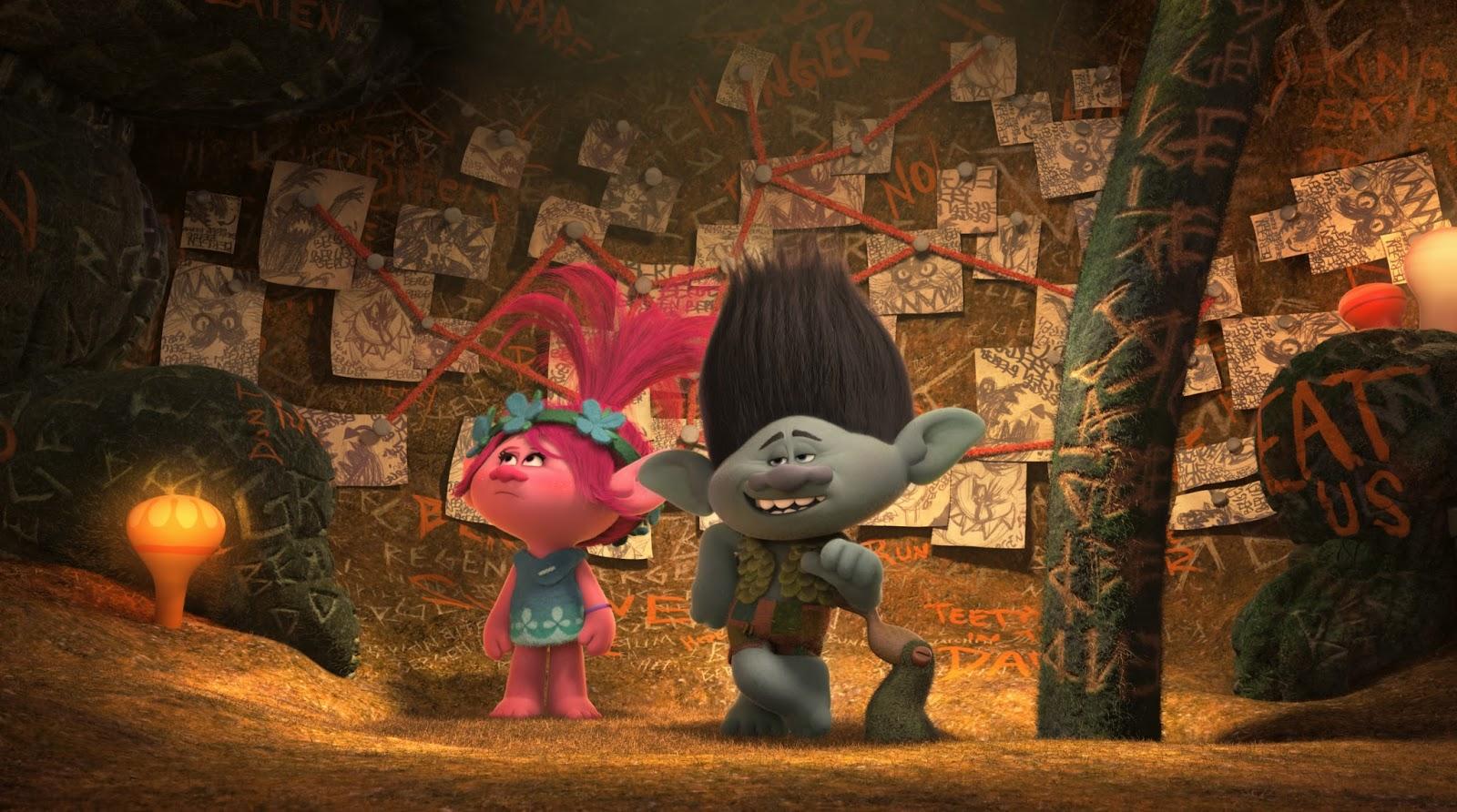 Trolls | Trailer inédito da animação da DreamWorks apresenta comentários do elenco