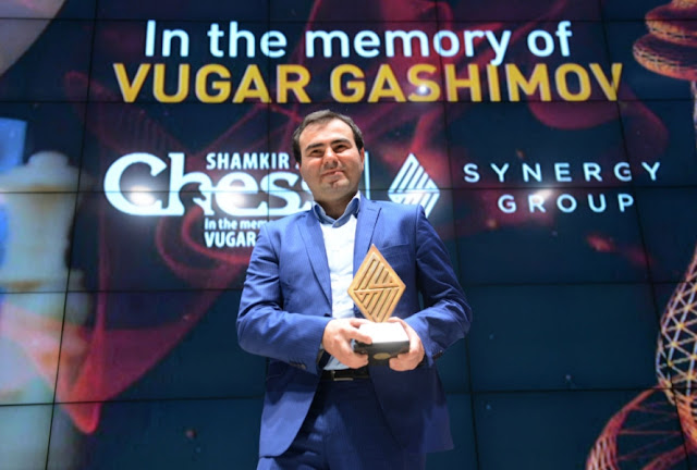 Shakhriyar Mamedyarov ganador del Shamkir Chess 2016