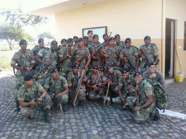 World Military And Police Forces Cape Verde