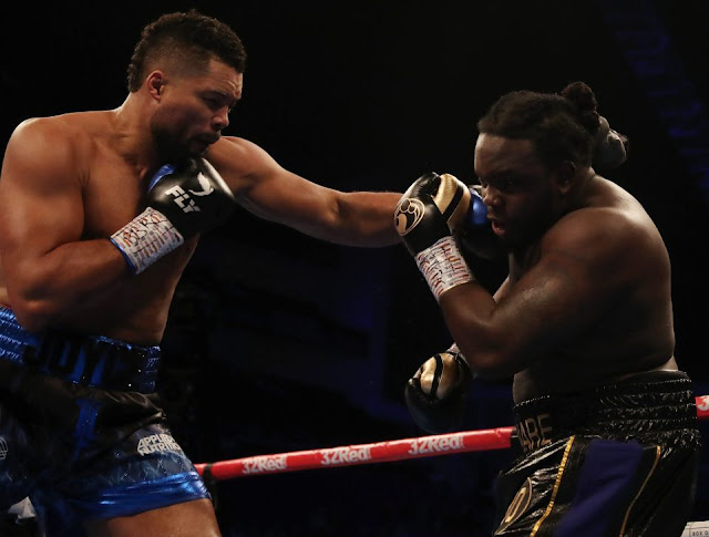 Joe Joyce Stops Bermane Stiverne To Retain  Commonwealth heavyweight title