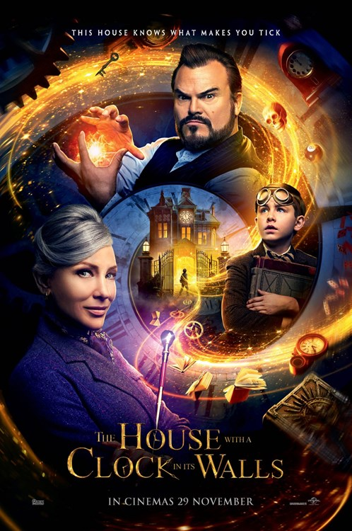 Review Filem The House With A Clock In Its Walls