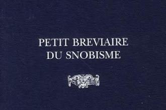 Lundi Librairie : Petit Bréviaire du Snobisme - Antonius Moonen