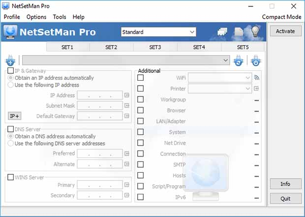 NetSetMan Pro 4.7.0