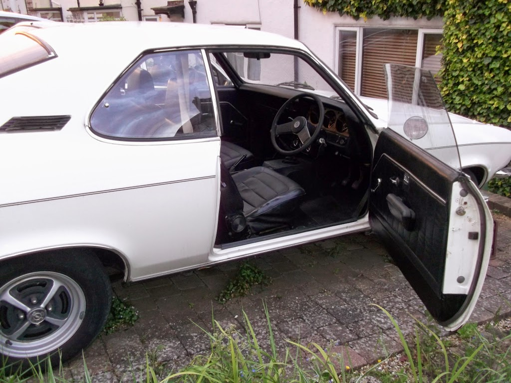 2014 Classic Opel Spares Manta Gte Wiring Diagram For Sale Low Maintenance All Black Interior Fitted
