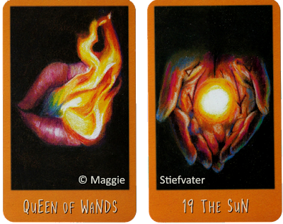 Raven's Prophecy Tarot Queen of Wands