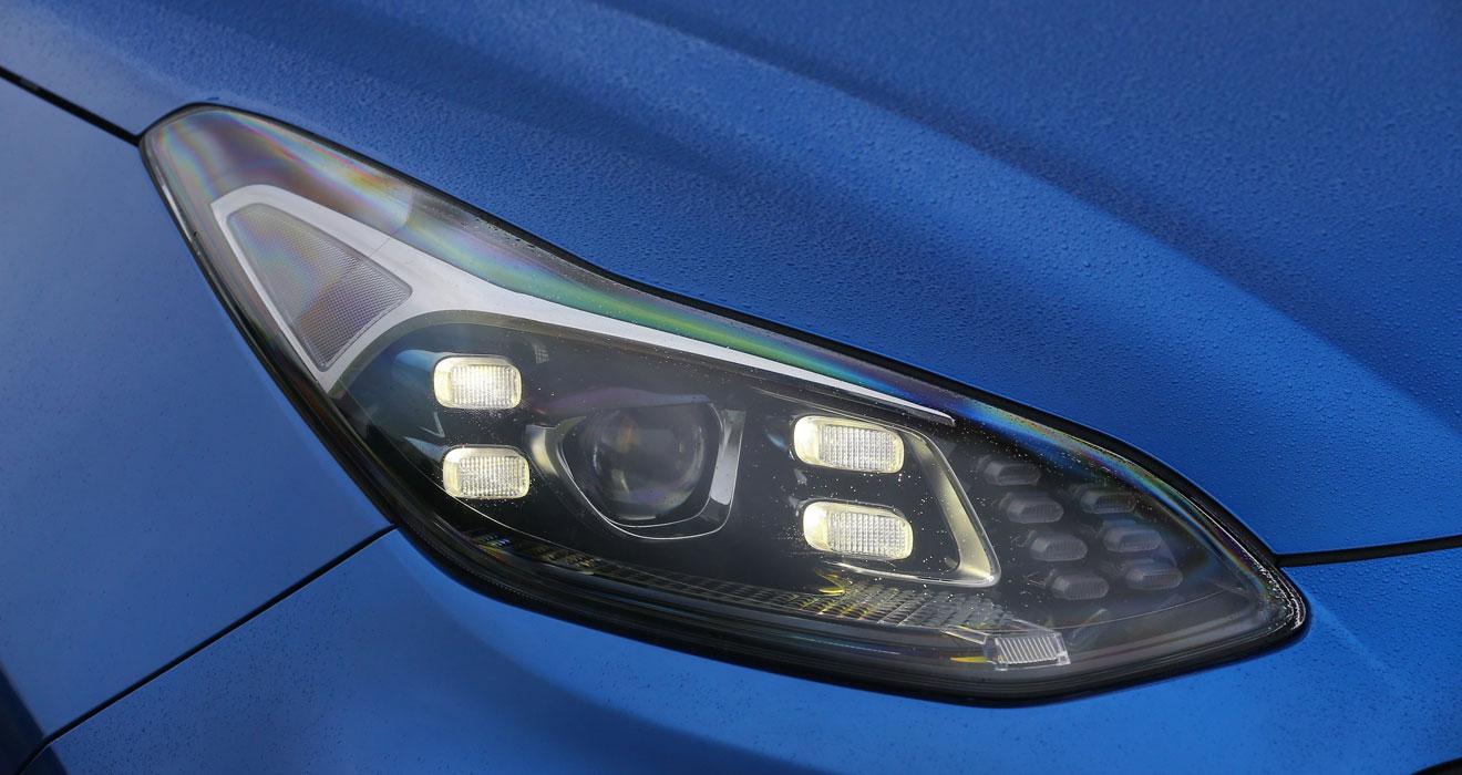 Kia Sportage 48V hybrid headlamps