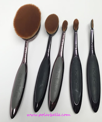 Mac Oval 3, Oval 6, Oval 1 brush