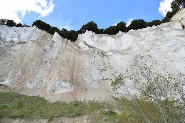 Møns Kline, white cliffs of mon, denmark