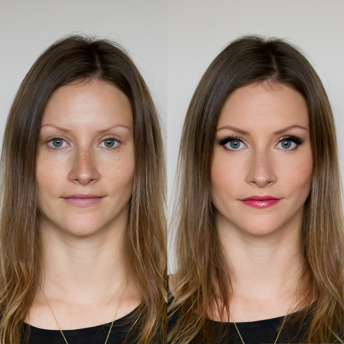 Personal Style blogger Alison Hutchinson gives a step-by-step tutorial on how to recreate this date night makeup