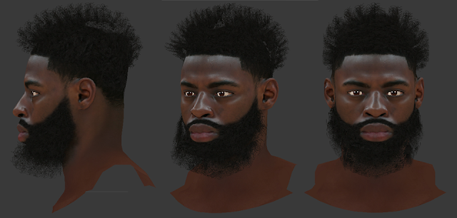 NBA 2K18 Tyreke Evans HD Cyberface