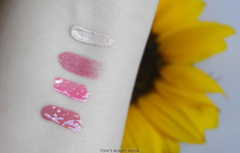 nyx max factor makeup haul swatches