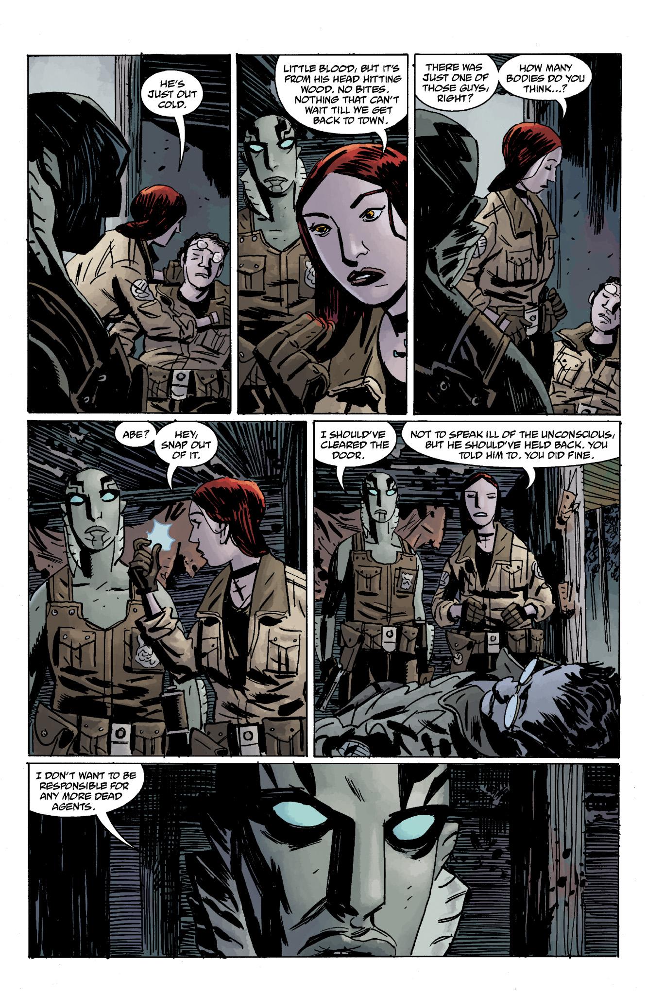 Read online Abe Sapien comic -  Issue #13 - 31