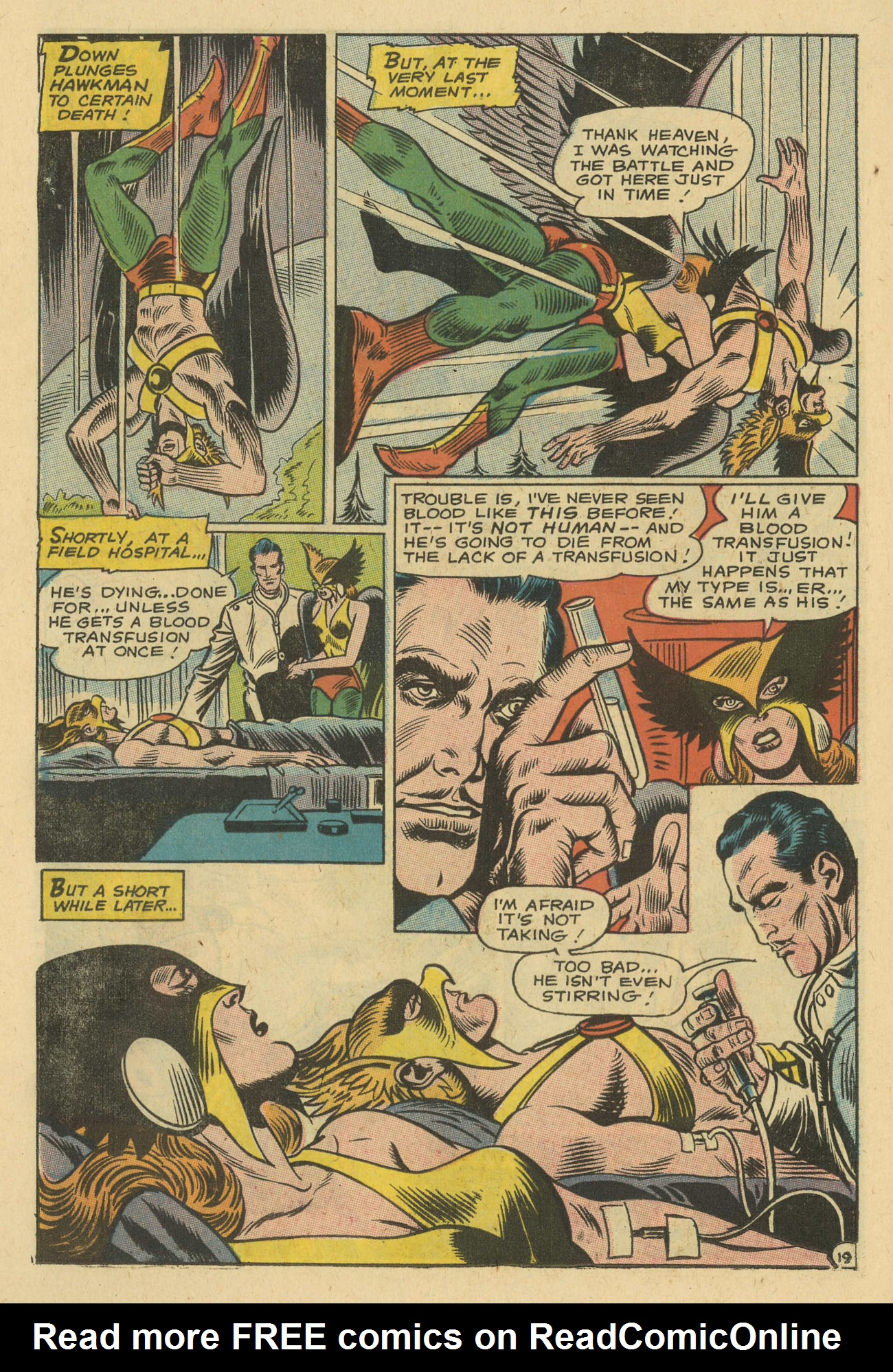 Hawkman (1964) issue 24 - Page 22