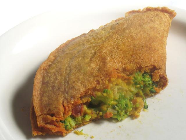 Vegan Chickpea Flour Omelette with Vegetables