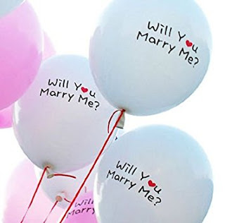 Balon Printing / Balon Sablon 2 Warna (WILL YOU MARRY ME ?)
