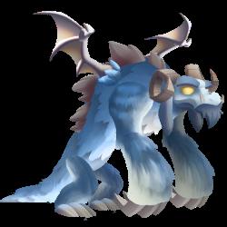 Dragon Yeti apparence jeune