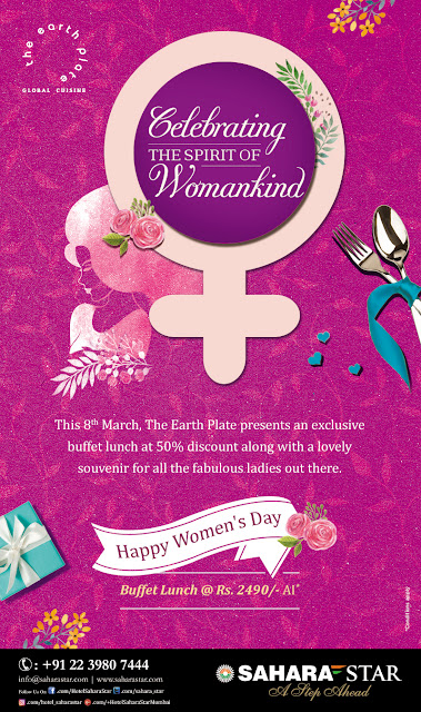 CELEBRATE THE SPIRIT OF WOMANHOOD AT HOTEL SAHARA STAR ON WOMEN'S DAY