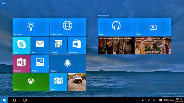 Windows 10 Insider Preview Build 10122 ISO Download