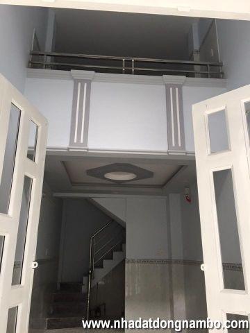 Bán nhà quận Bình Tân, đường Tân Hòa Đông, nhà mới 100%