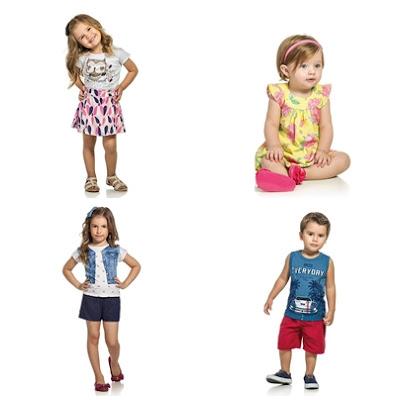 roupa infantil no Brás