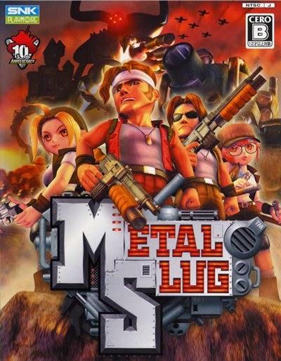 Metal Slug 3D PC Emulado