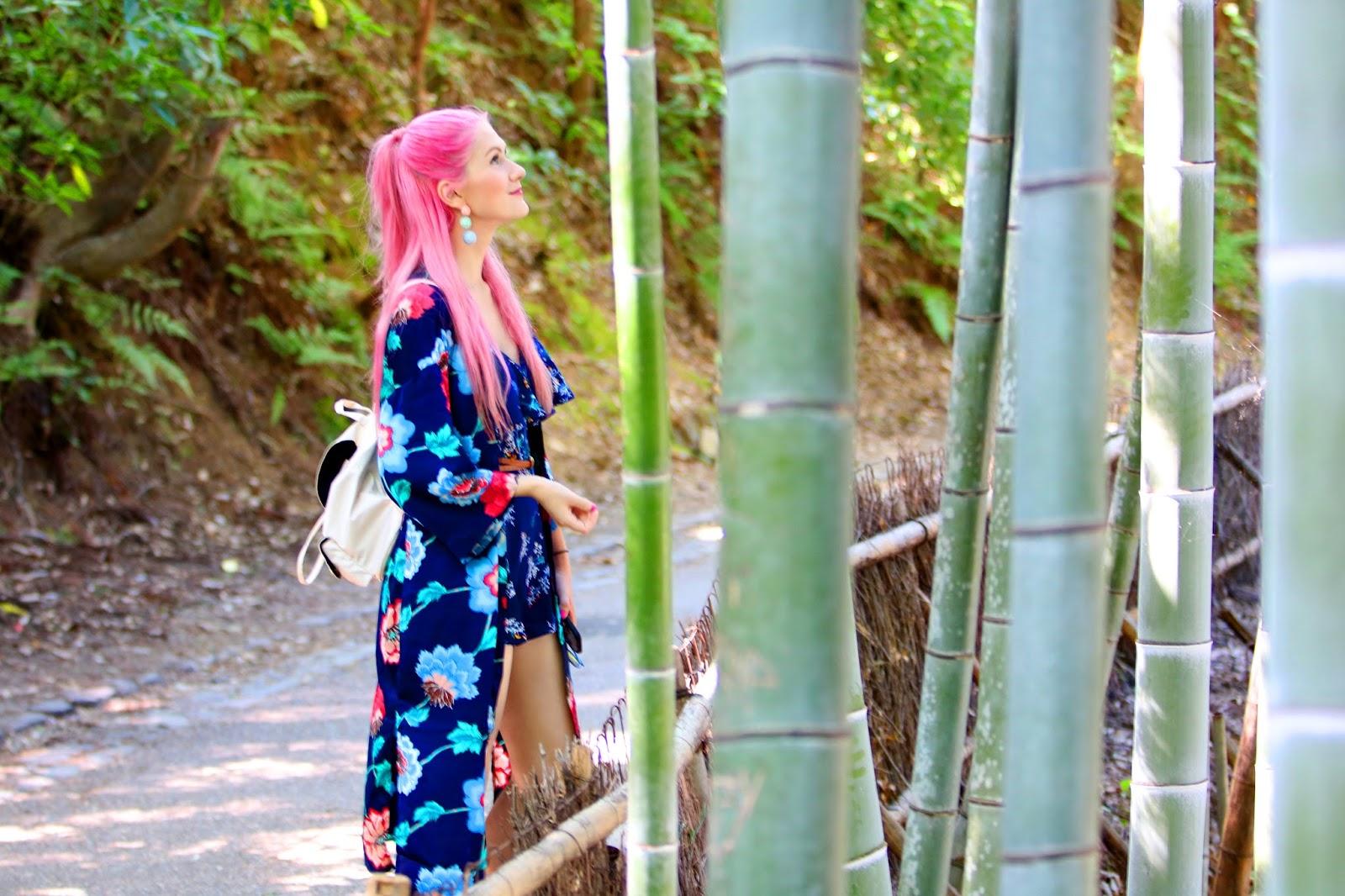 Vlog of the beautiful Bamboo forest in Arashiyama, Japan