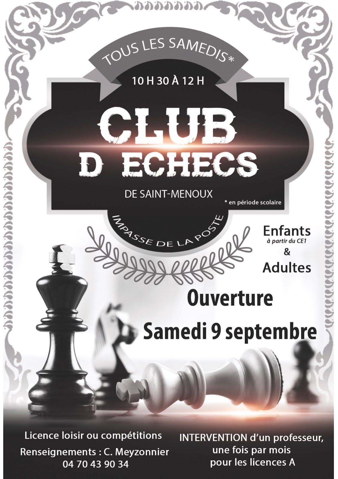 affiche club