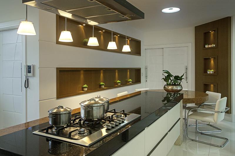 Cozinha Ilha Branca - Decor Salteado  Blog de Decoração, Arquitetura e Construção