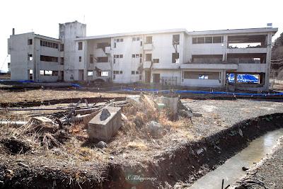3.11 東日本大震災 復興支援 東北 陸前高田市立気仙中学校