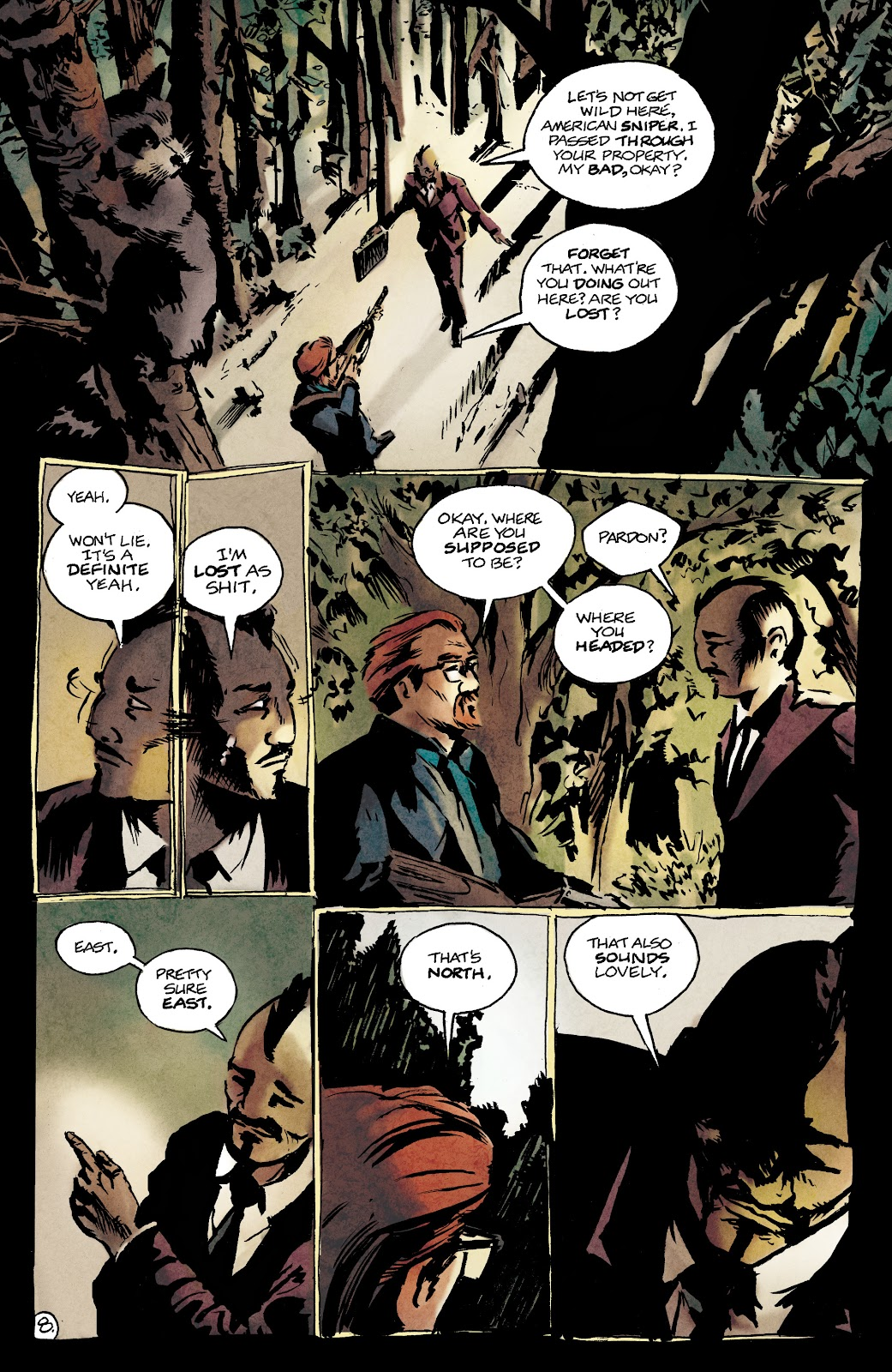 Read online Nobody Is In Control comic -  Issue #1 - 12