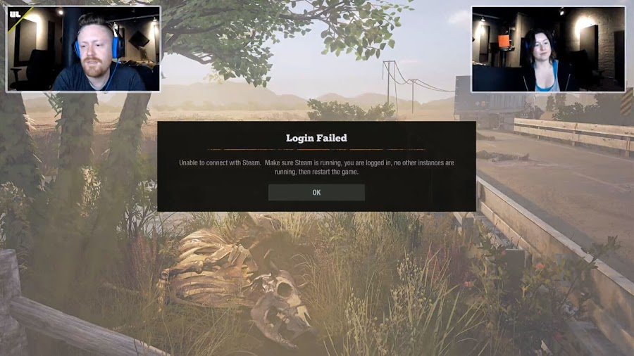 state of decay 2 error message steam