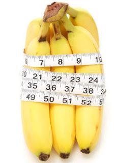 la dieta del banano para baja tallas