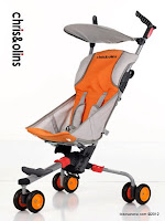 Chris and Olins P660 Jubille Lightweight Baby Stroller