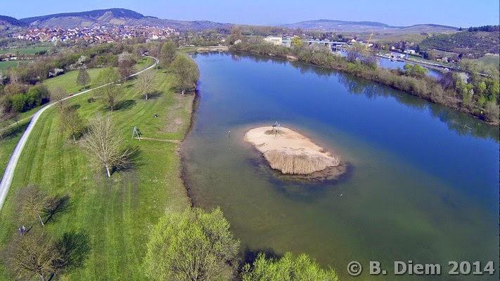 Freizeitmöglichkeiten in Mainfranken: Badesee Erlabrunn