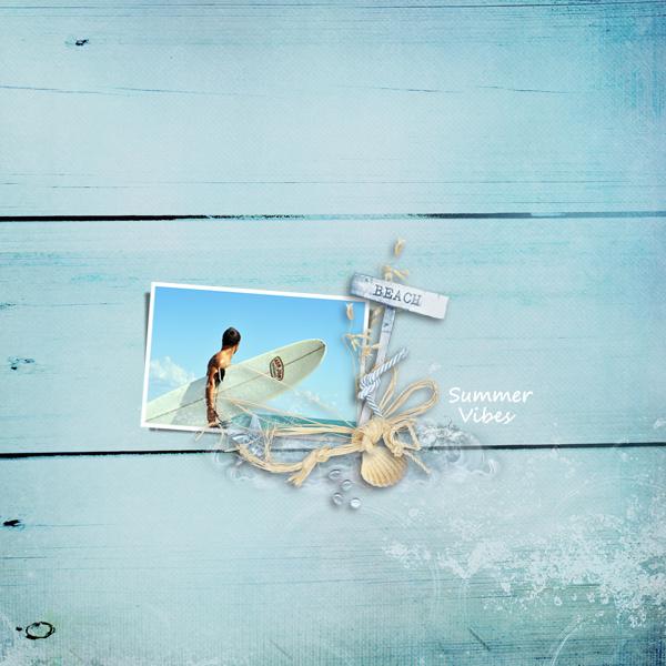 beach © sylvia • sro 2018 • aloah summer by designs by birgit