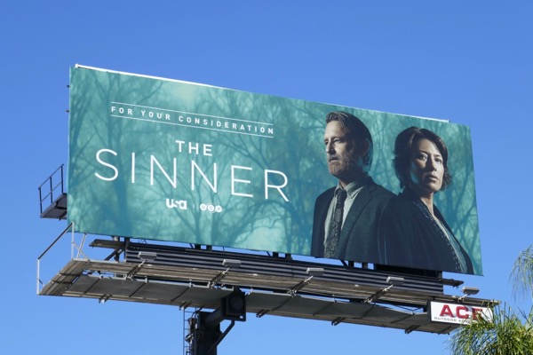 Sinner season 2 FYC billboard