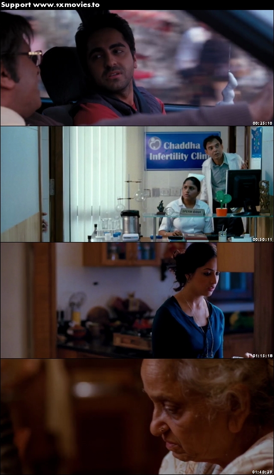 Vicky Donor 2012 Hindi 480p BluRay 350MB