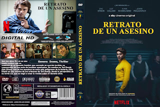 CARATULA TED BUNDY RETRATO DE UN ASESINO - Extremely Wicked, Shockingly Evil and Vile [COVER DVD]